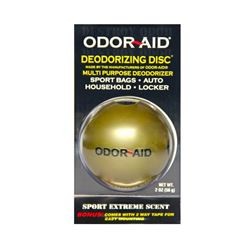 Odor Aid Deordorizing Disc- Gold (12 Pack)