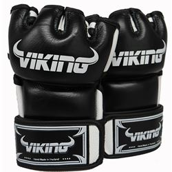 Viking Ultra Pro MMA Glove Nappa Leather Black/White