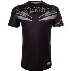Venum Sharp 3.0 Drytech T-Shirt - Black/Neo Yellow