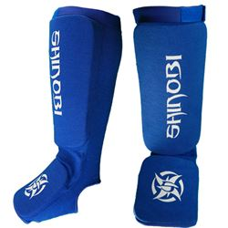 Shinobi Shin And Instep Guards - Blue