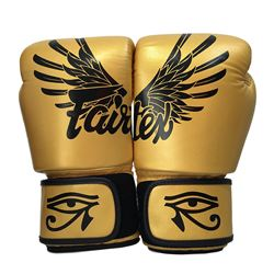 Fairtex Falcon Limited Edition Boxing Gloves - Gold