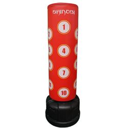 Shinobi Free Standing Punching Bag - Red