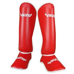 Viking Legacy Shinguards - Red/White