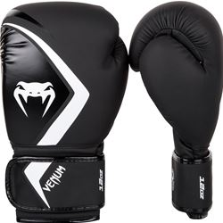 Venum Contender 2.0 Boxing Gloves - Black/Grey-White