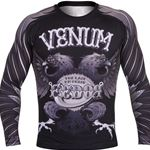 Venum Black Eagle Fedor Signature Rashguard - Black