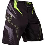 Venum Sharp 3.0 Fight Shorts - Black/Neo Yellow