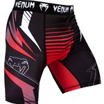 Venum Sharp 3.0 Vale Tudo Shorts - Black/Red (With Cup Holder)