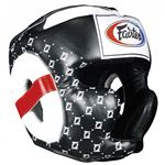 Fairtex Super Sparring Headguard - Black - HG10