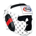 Fairtex Super Sparring Headguard - White - HG10
