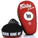 Fairtex Angular Focus Mitts - Black/Red FMV12
