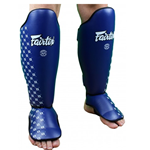 Fairtex SP5 Competition Muay Thai Shin Guards - Blue