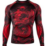 Venum Dragons Flight Rashguard Long Sleeve - Black/Red