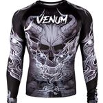 Venum Minotaurus Rashguard - Long Sleeve - Black/White