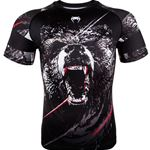 Venum Grizzli Rashguard Short Sleeve - Black/White