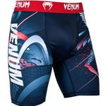Venum Rooster Compression Shorts - Blue/Red