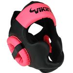 Viking Chaos Head Gear - Black/ Neo Pink