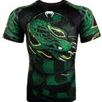 Venum Green Viper Rashguard Shortsleeve - Black/Green
