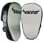 Viking Legacy Big Focus Mitts - White/Black