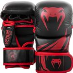 Venum Challenger 3.0 Sparring MMA Gloves - Black/Red