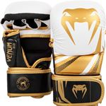 Venum Challenger 3.0 Sparring MMA Gloves - White/Black/Gold