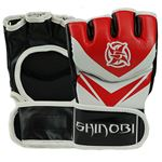 Shinobi MMA Gloves - Red