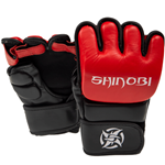 Shinobi Zero MMA Gloves - Black/Red