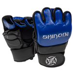 Shinobi Zero MMA Gloves - Black/Blue