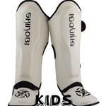 Shinobi Raven Shinguards - Kids - White